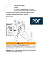 VEB+.  Valvula e Inyectores bomba, ajustes