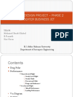 Aircraft Design Project – Phase 2 Ppt