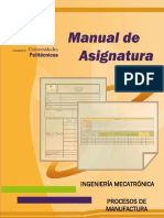 MA-Procesos de Manufactura