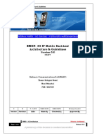 RMEN- 3G IP Mobile Backhaul Architecture and Guidelines Ver0.0