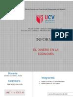 Inf. de Macroeconomia - Dinero en La Economía
