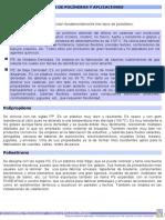 Clases de Polímeros y Aplicaciones