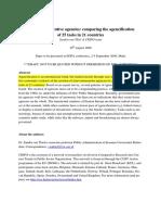 EGPA 2009 Thiel the Rise of Executive Agencies