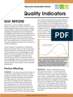 Soil Nitrate Sq Chemical Indicator Sheet