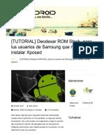 Deodexar ROM Stock, para lus usuarios de Samsung que no pueden instalar Xposed _ TuAndroid.pdf