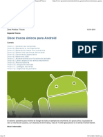Doce Trucos Únicos Para Android