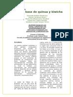 Paper Fideos de Quinua y Kiwicha