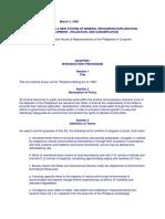 Environmental Law Statutes