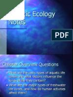Freshwater Ecolgy