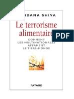 Vandana Shiva - Le terrorisme alimentaire