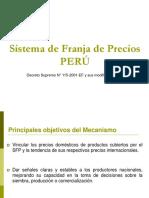 Franja de Precios - PERU