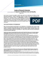 ATATelemedicineResearchPaper Impact on Healthcare Cost and Quality April2013