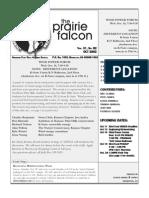 September 2002 Prairie Falcon Northern Flint Hills Audubon Society