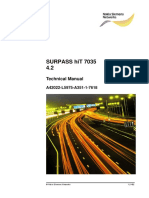 SURPASS HiT 7035 Technical Manual R4.2