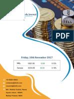 Derivative Premium Daily Journal-10th November 2017, Friday