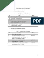 Anggaran Dana Penelitian