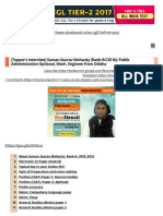 [Topper Interview] IAS Rank-9_ Suman Sourav Mohanty PubAd, Mech