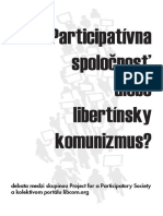 Participatívna Spoločnosť Alebo Libertínsky Komunizmus
