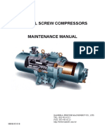 Hanbell Maintenance Manual