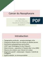 Cancer Du Cavum 2017