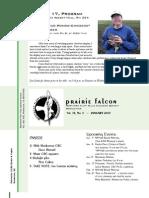 Jan2007 Prairie Falcon Northern Flint Hills Audubon Society