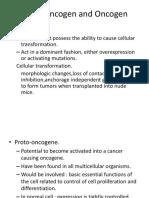 Proto Oncogen and Oncogen