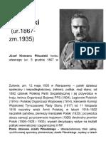 j Pilsudski