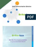 BrikerBox Presentation 2012