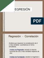 Regresión y corelación