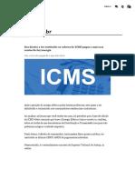 Seu Direito a Ter Restituído Os Valores de ICMS Pagos a Mais Nas Contas de Luz_energia
