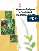 India. National Medicinal Plants Board, Energy and Resources Institute-Agro-techniques of Selected Medicinal Plants-The Energy and Resources Institute (2008)