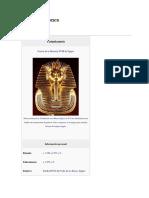 Vida de Faraones