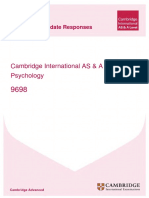 9698 Psychology Example Candidate Responses Booklet 2013 v3