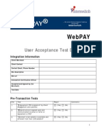 WebPAY UAT Document[5114]