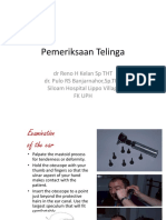 2014 Pemeriksaan Telinga