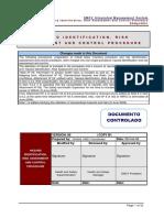 SSOpr0001_01 Hazard Identification, Risk Assesment and Risk Control Procedure
