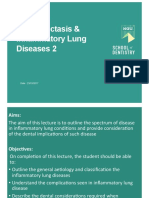 Bronchiectasis and Inflammatory Lung Diseases 2 (Lecture)
