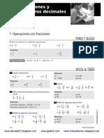 Fracciones y Nc3bameros Decimales Bruc3b1o 2c2ba Eso Matematicas Curso 2008 2009 Textos Loe Www Gratis2 Com