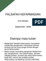 Falsafah Kefarmasian 4.9.2008