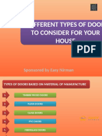 5 Different Types of Doors to Consider for Your House