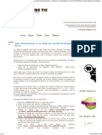 En La Nube TIC_ Usar EXeLearning en Un Blog Con Ayuda de Google Drive