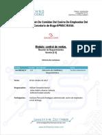 Informe REQUERIMIENTOS CECB Linea de Enfacis 5