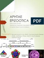 2. APHTHAE EPIZOOTICA