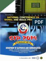 SIP Proceedings Draft Copy