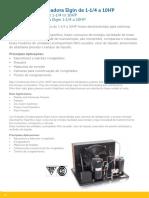 Unidade Condensadora de 1.5 HP