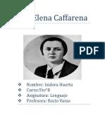 Elena Caffarena Resumen