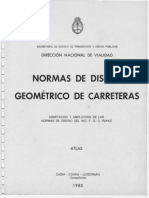 Norma Diseño Geometrico de Carreteras - Atlas