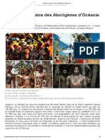 L'Origine Africaine Des Aborigènes d'Océanie
