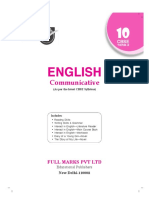 Full Marks English Class 10 Term 2