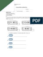 Evaluación matemática horas y calendario.docx